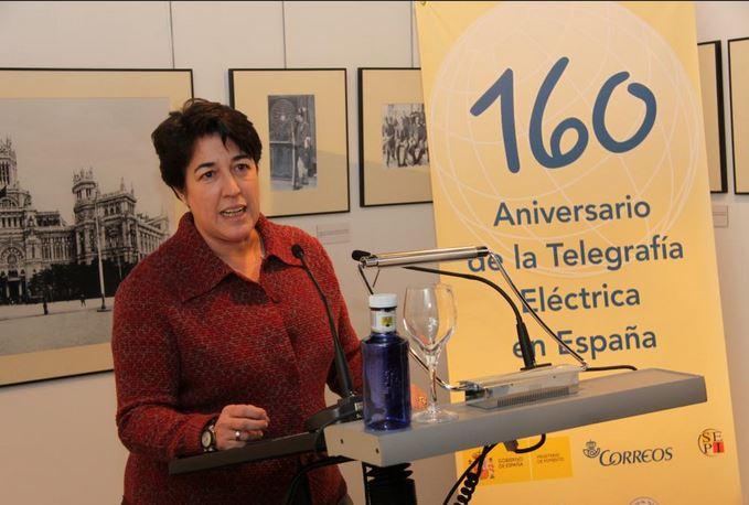 Inauguración exposición 160 años del telégrafo eléctrico